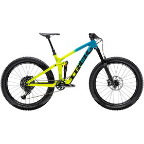 Trek Remedy 9.8 27.5 teal to volt fade